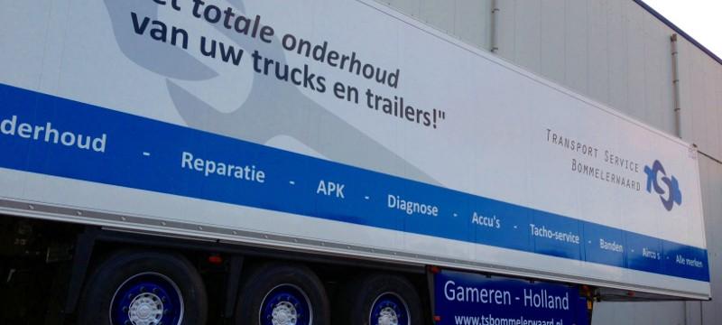 Transport Service Bommelerwaard werkplaats en wasstraat Gameren