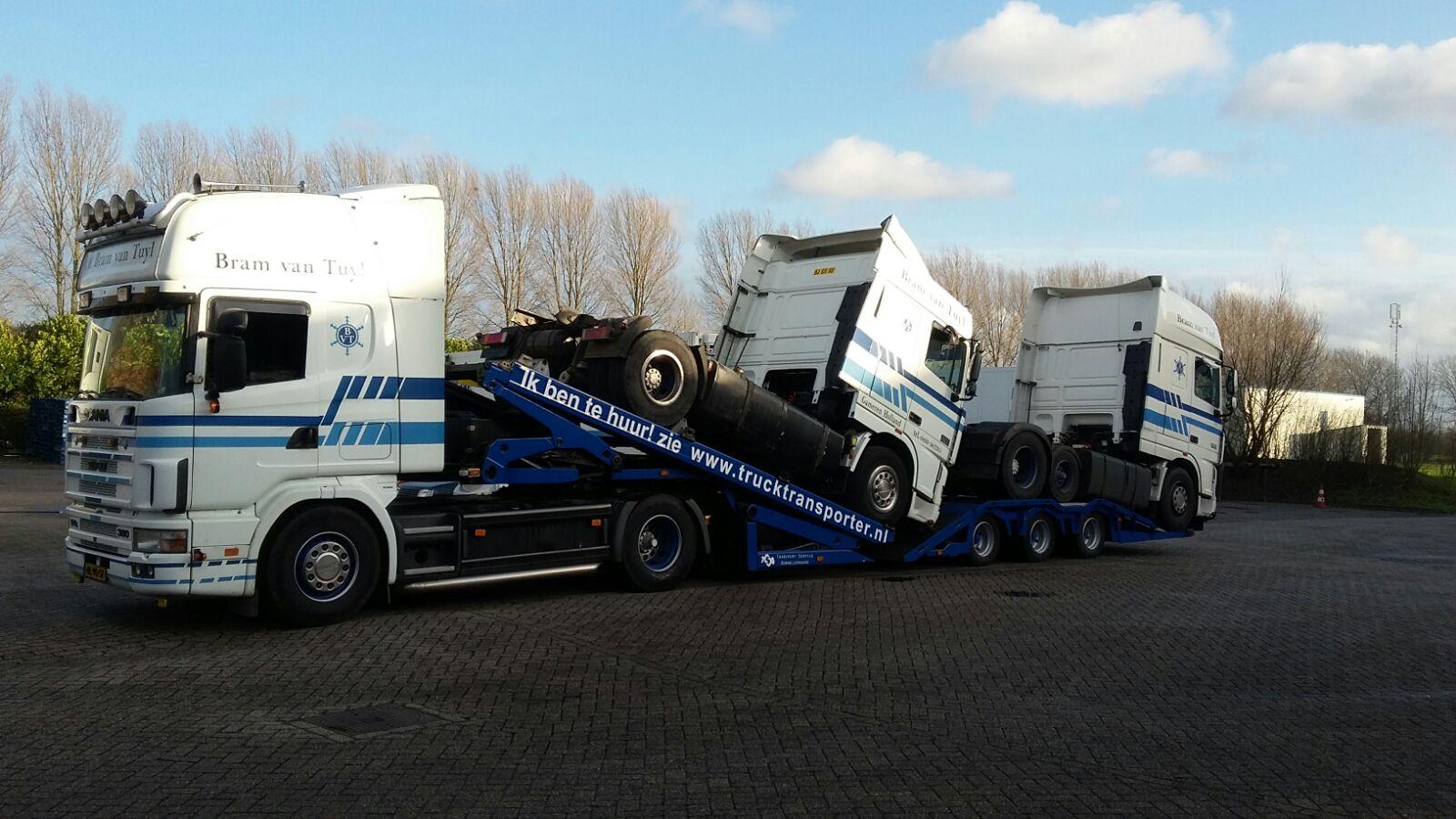 Truck transporter